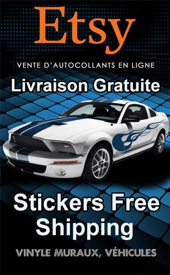 Autocollants Stickers R